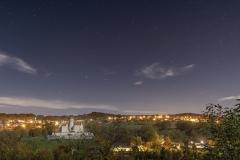 Chateau de Montrottier de nuit