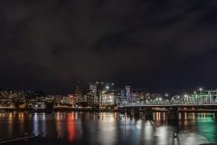 Portland by night