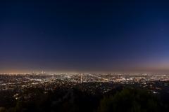 Coucher de soleil à Los Angeles