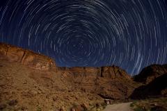 Circumpolaire dans un canyon au bord du Colorado