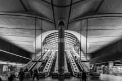 Station de métro de Canary Wharf à Londres
