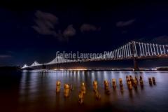 Oakland  Bay Bridge de nuit